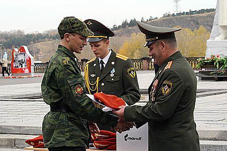 Посвящение кадетов МЧС