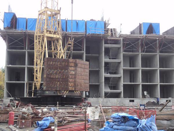 Строительство жилого дома в г. Новокузнецке