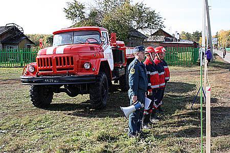 Тактико-специальные учения в Гурьевском районе