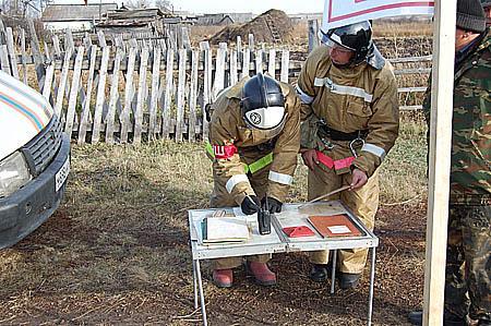 Учения по лесным пожарам