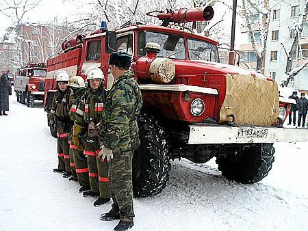 Лучшая пожарная часть в России 2010 г.
