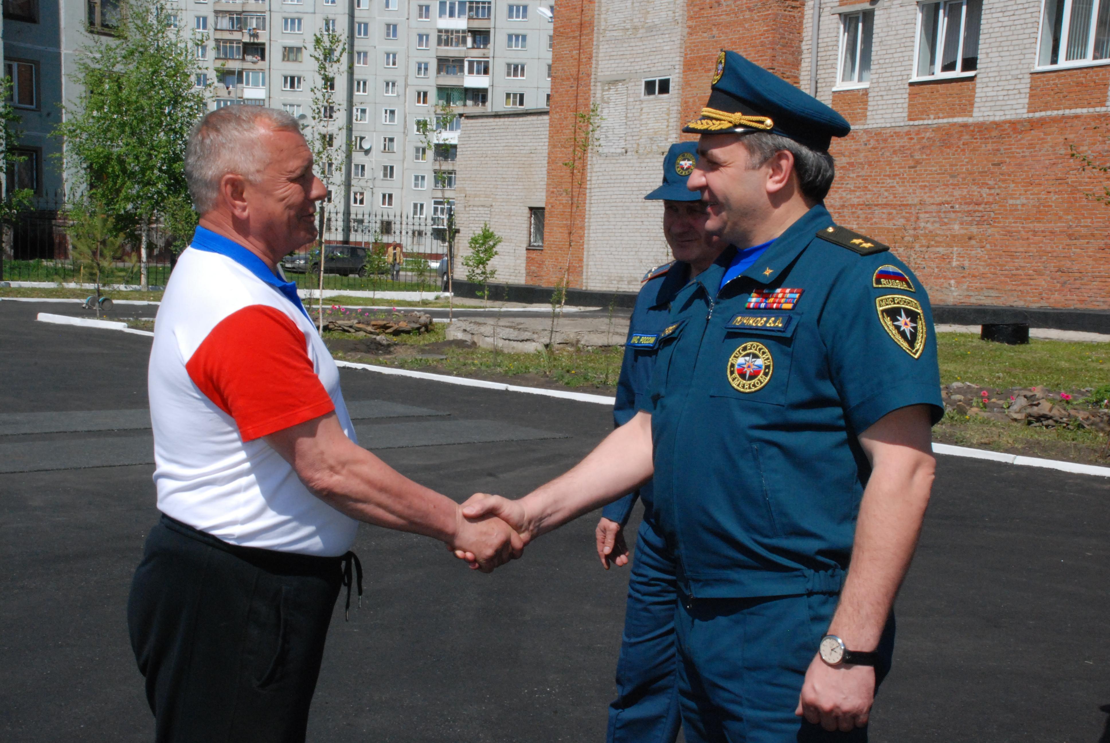 Рабочая поездка Министра МЧС России В.А.Пучкова в Кузбасс