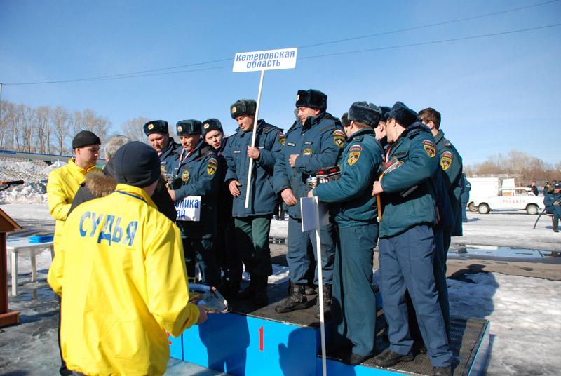 Кемерово -  25 марта 2011 года. Региональные соревнования по проведению АСР при ДТП
