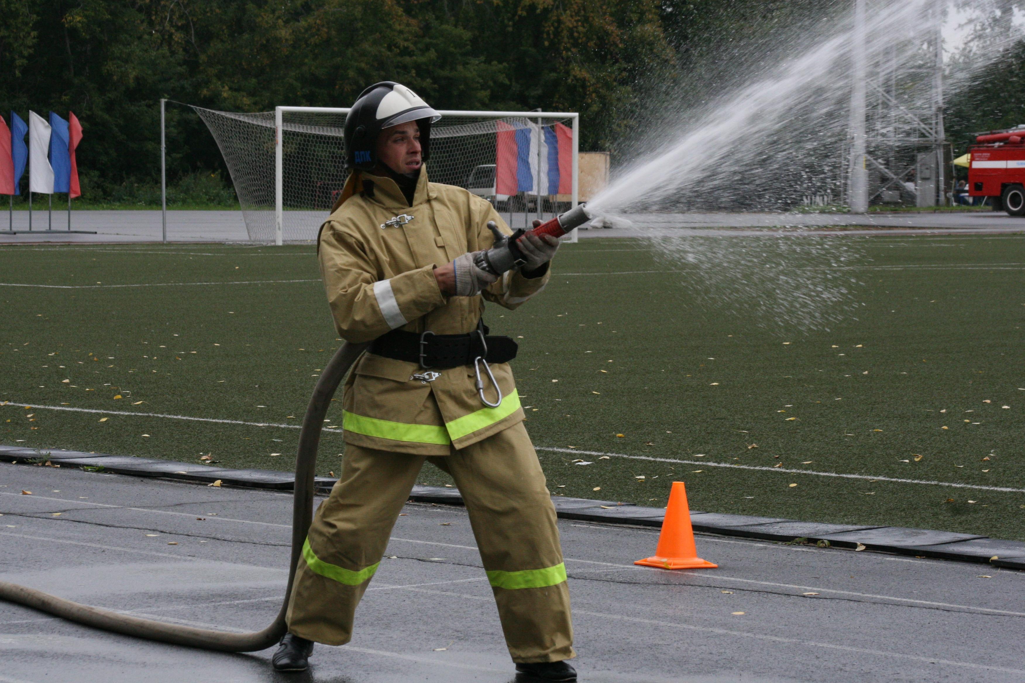 I областные соревнования ДПК, в рамках смотра-конкурса добровольных пожарных формирований Кемеровской области