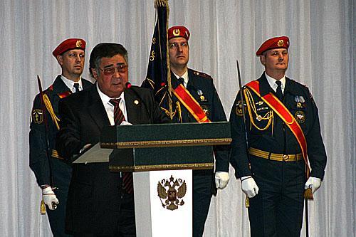 Губернаторский прием в честь 20-летия МЧС России