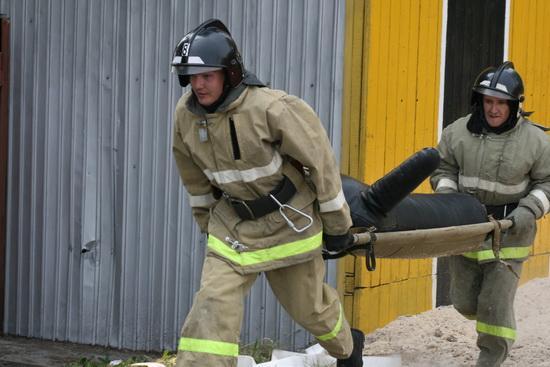 Региональные соревнования по тушению пожаров в высотных зданиях