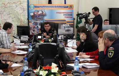 Пресс-конферения по паводку