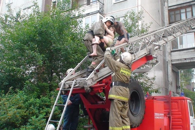 Пожар в учебном центре ГУФСиН