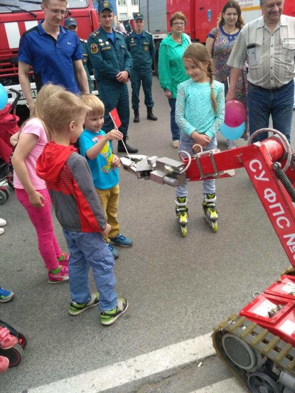 Выставка пожарно-спасательной техники и оборудования «НОВОСИБСПАС-2018»