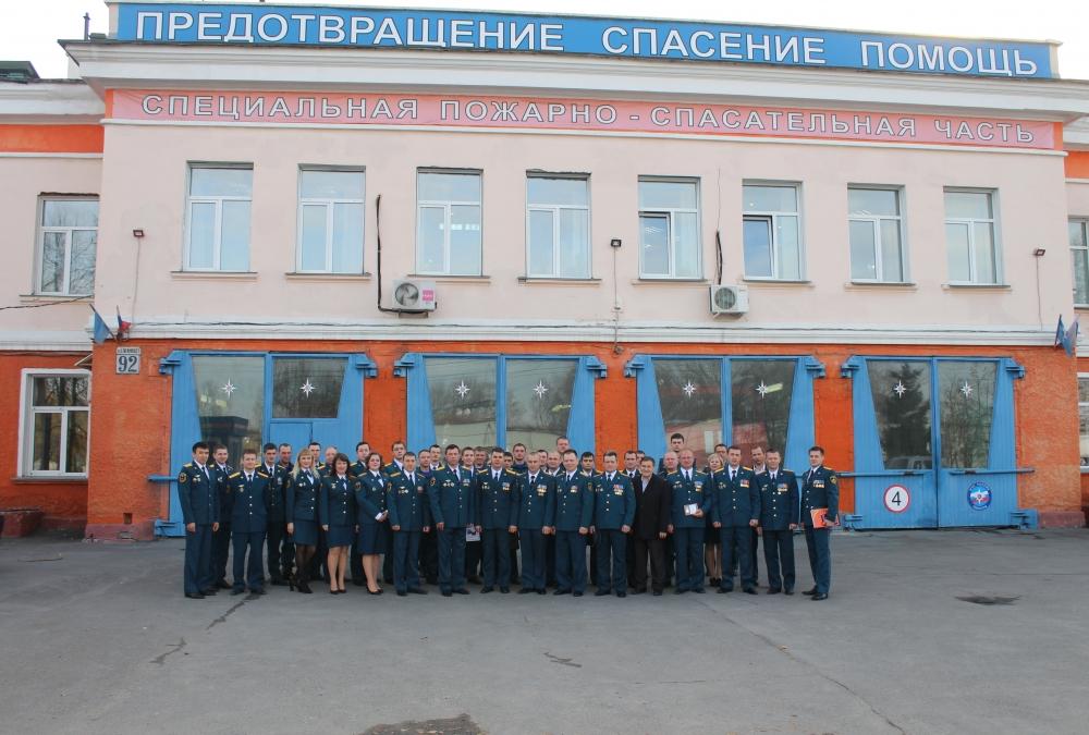 71 год со дня образования Специальной пожарной охраны