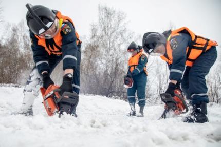 Спасатели МЧС готовы к паводковому сезону в Новосибирской области