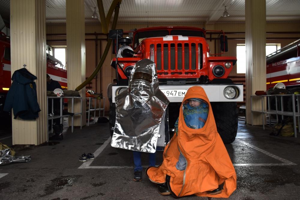 День открытых дверей в Специальной пожарно-спасательной части № 3