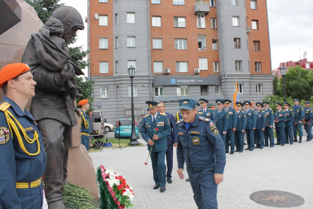 Празднование Дня пожарной охраны Новосибирской области