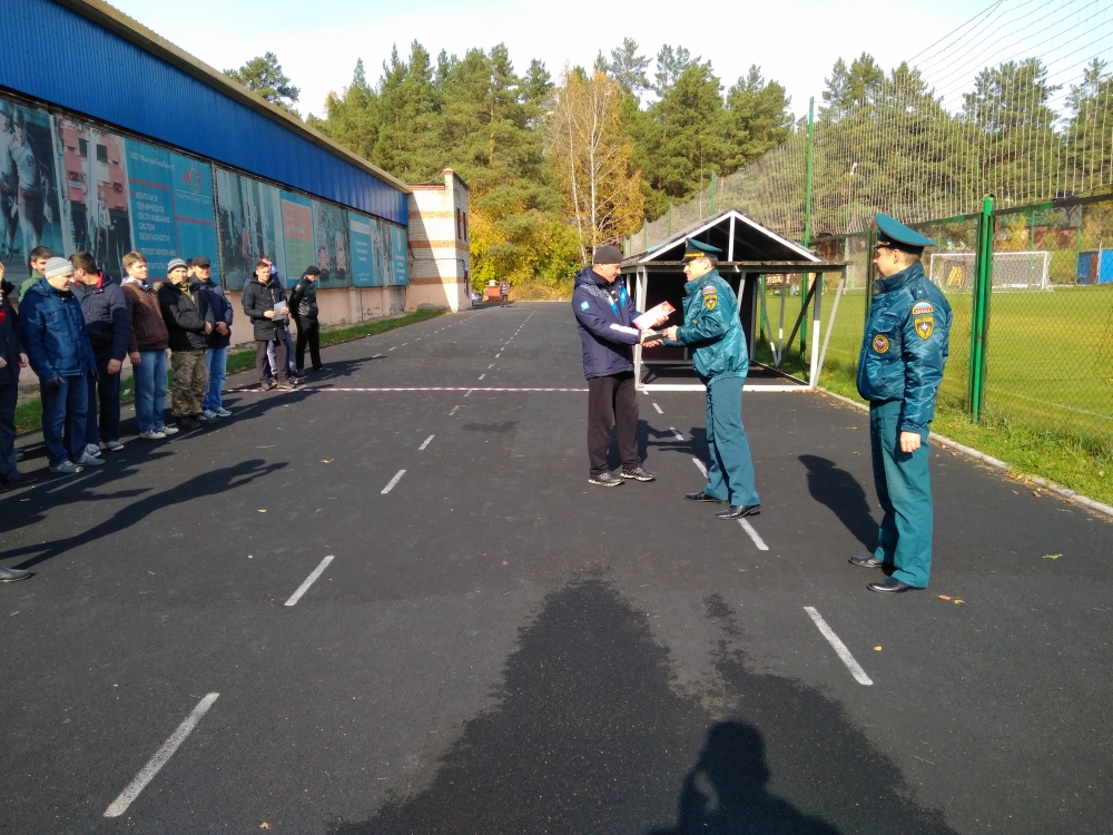Соревнования среди ДПД охраняемых объектов