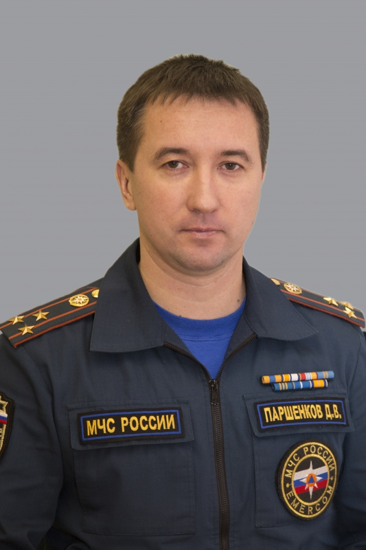 Паршенков Дмитрий Владимирович