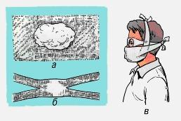 Действия при заражении хлором