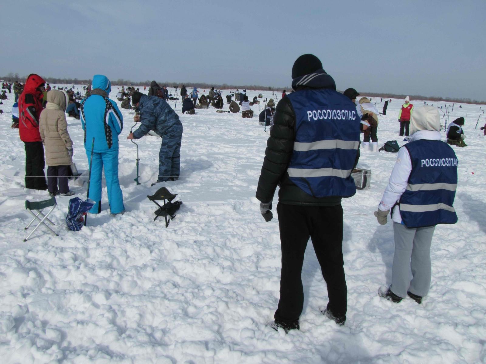Обеспечение безопасности при проведении фестиваля «Народная рыбалка – 2015» на озере Родниковом в Шегарском районе, 21 марта 2015 года