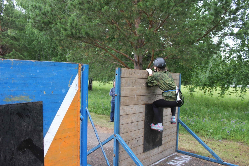 Третий день областных соревнований «Школа безопасности». Этап «Пожарная эстафета». Закрытие соревнований.