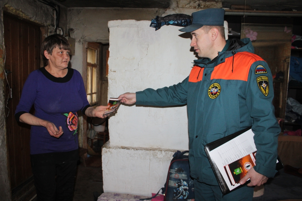 Профилактический рейд по жилому сектору в Томском районе