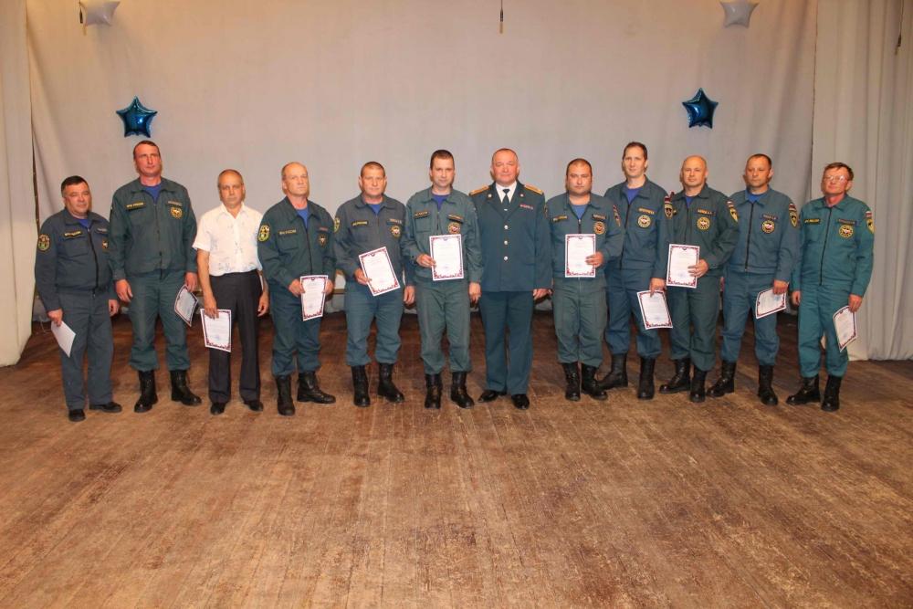 Торжественное мероприятие, посвященное 20-летию пожарно-спасательной части № 6 г. Томска