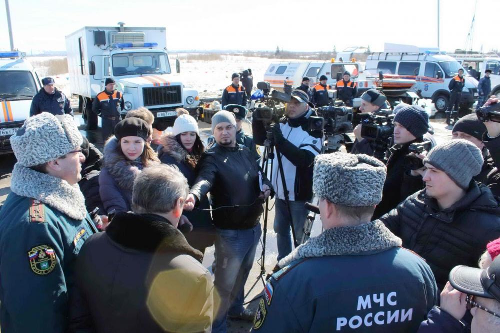 Смотр готовности сил и средств функциональной и территориальной подсистемы предупреждения и ликвидации чрезвычайных ситуаций Томской области, 22 марта 2016 года