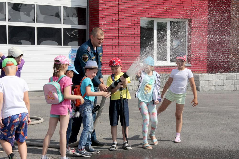 Клуб молодых семей Сближение на экскурсии в СПСЧ № 3