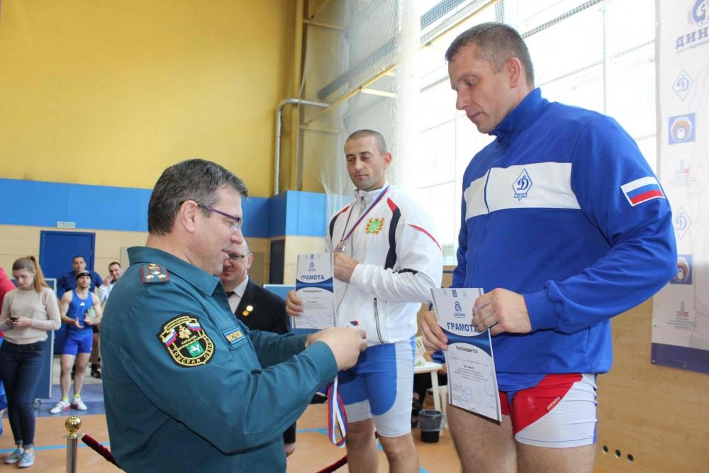 Всероссийские соревнования Общества «Динамо» по гиревому спорту