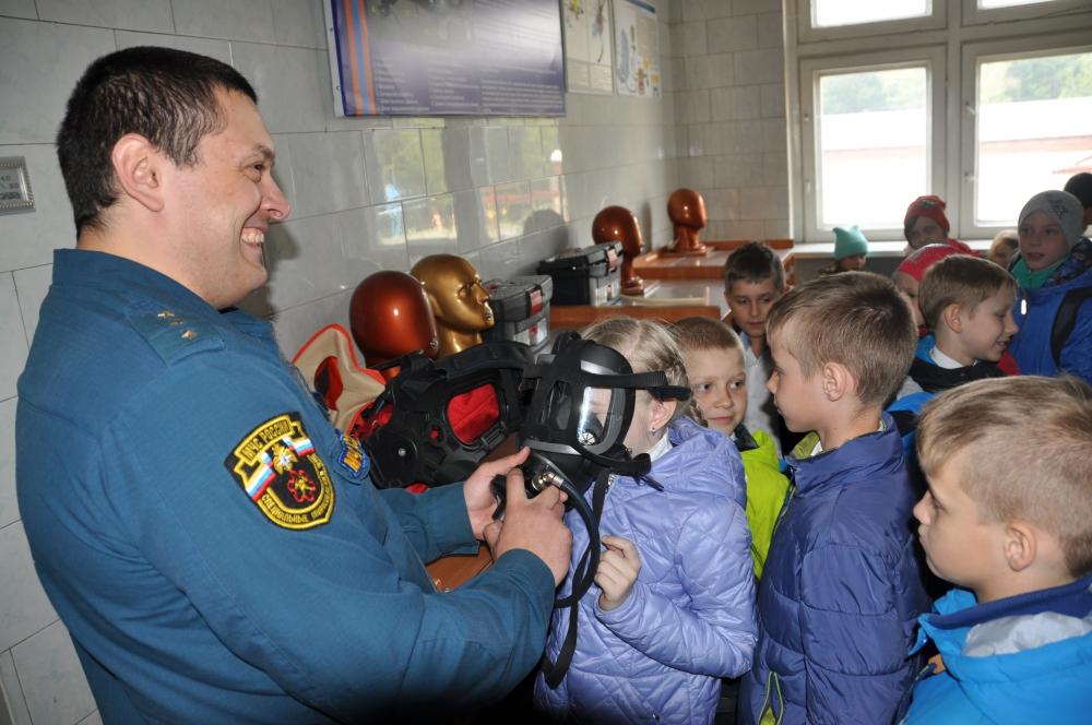 Экскурсия младших школьников Северского лицея в СПСЧ № 2