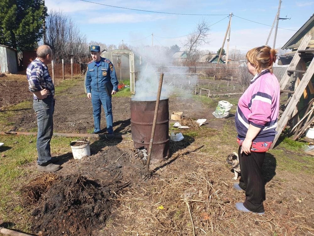 Рейды по садовым обществам (1-5 мая 2019 года)