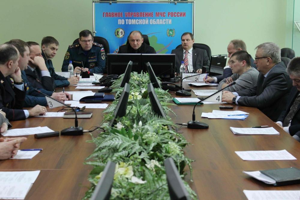 Заседание межведомственной комиссии по предупреждению и ликвидации чрезвычайных ситуаций и обеспечению пожарной безопасности по подготовке к паводку и пожароопасному сезону, 26 февраля 2016 года