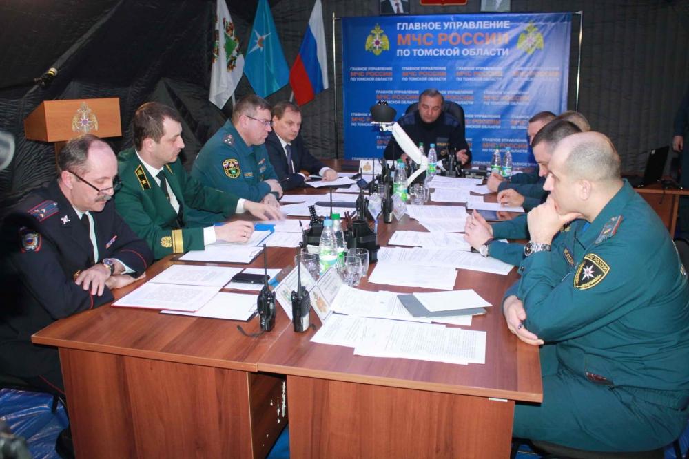 Визит главы МЧС России В.А. Пучкова в Томскую область, 13 мая 2016 года