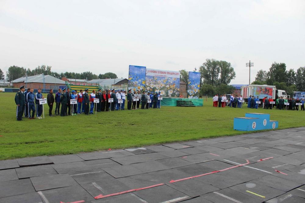 XV чемпионат по пожарно-прикладному спорту среди пожарных и спасателей Томской области в г. Колпашево. Третий день.