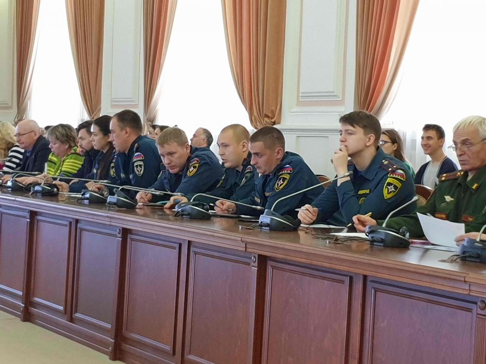 Сотрудники МЧС России приняли участие в акции «Географический диктант» (27 октября 2019 года)