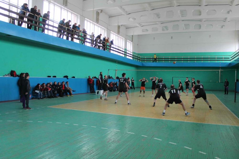 Соревнования по волейболу в зачет круглогодичной комплексной спартакиады Томской региональной организации ОГО ВФСО «Динамо», 7 апреля 2016 года