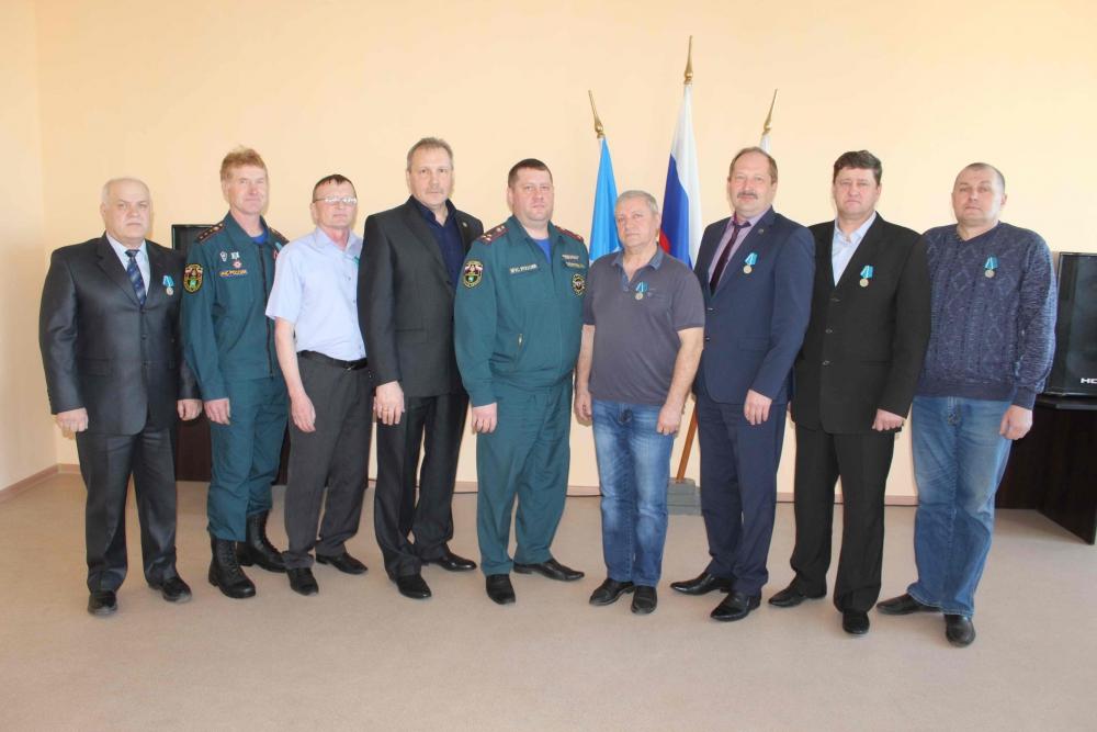 Торжественное мероприятие, посвященное 95-летию со дня создания в Томске пожарно-спасательной части № 2 (16 апреля 2019 года)