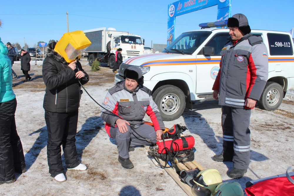 Обеспечение безопасности при проведении шестого фестиваля «Народная рыбалка» на озере Родниковом в Шегарском районе