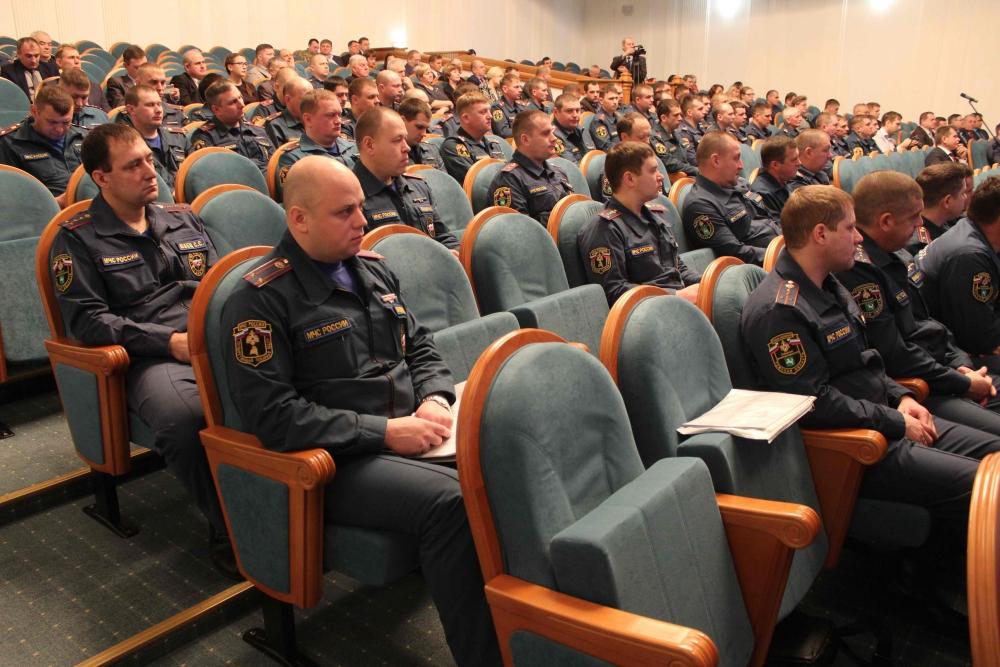 Учебно-методический сбор с руководящим составом гражданской обороны и ТП РСЧС Томской области по подведению итогов за 2018