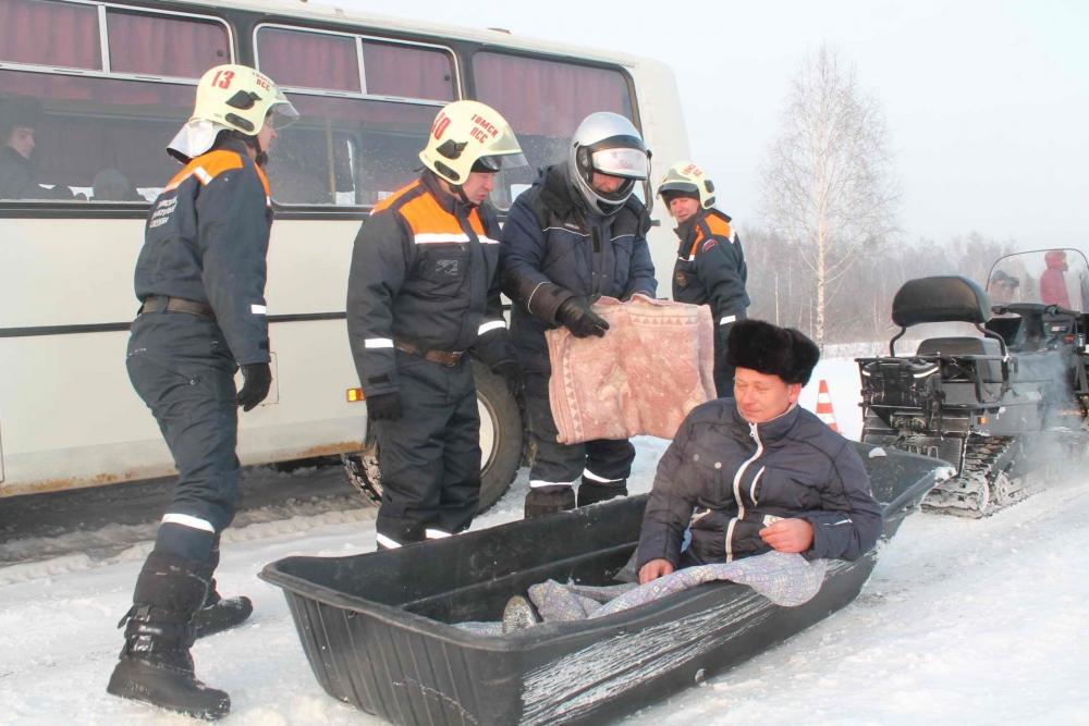 Командно-штабное учение с органами управления и силами функциональных и территориальной подсистем РСЧС по реагированию на чрезвычайную ситуацию, обусловленную ограничением автомобильного движения на федеральной автомобильной дороге, 22 декабря 2015 года