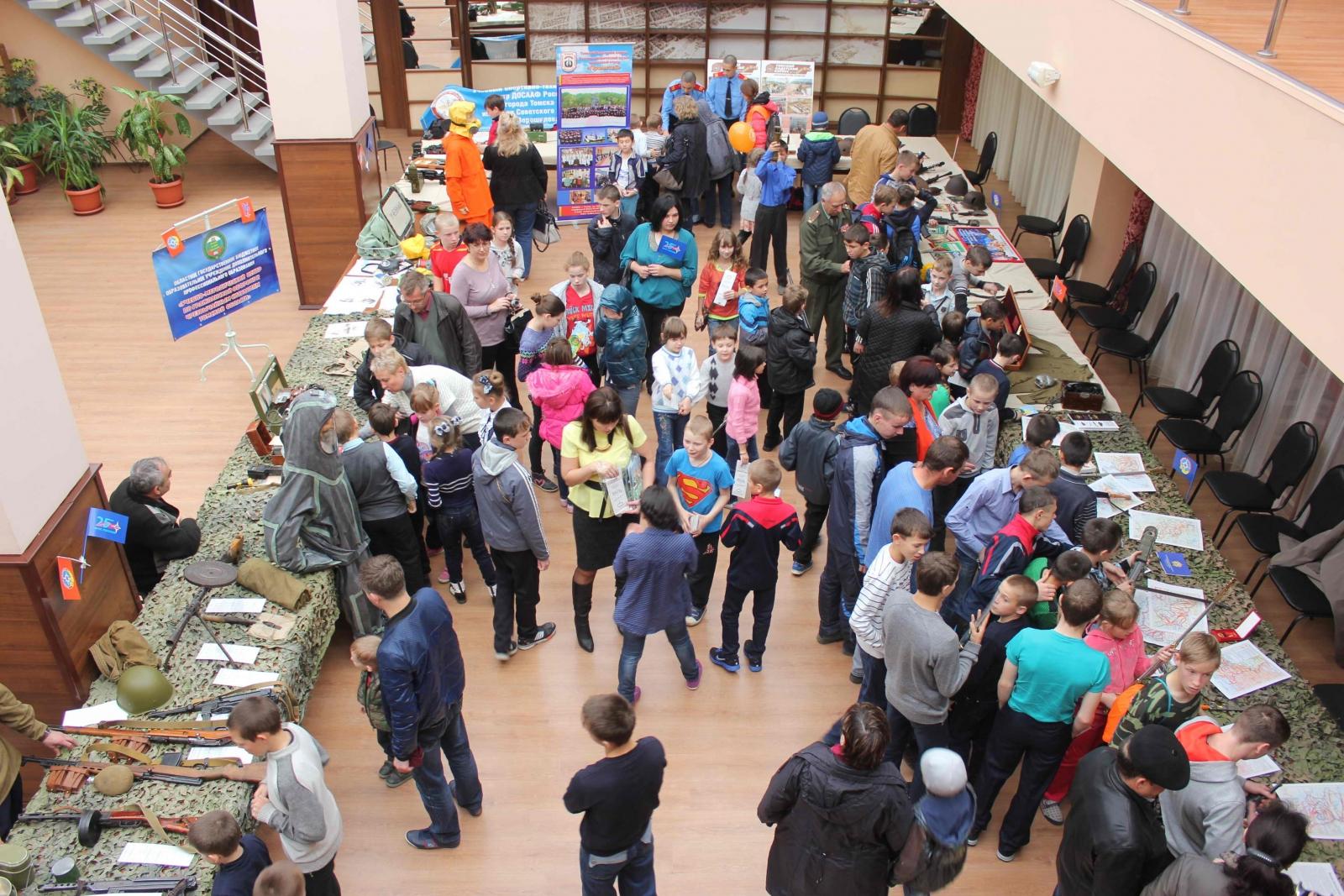 Праздничные мероприятия, посвящённые 83-й годовщине со дня образования гражданской обороны России, 11 октября 2015 года