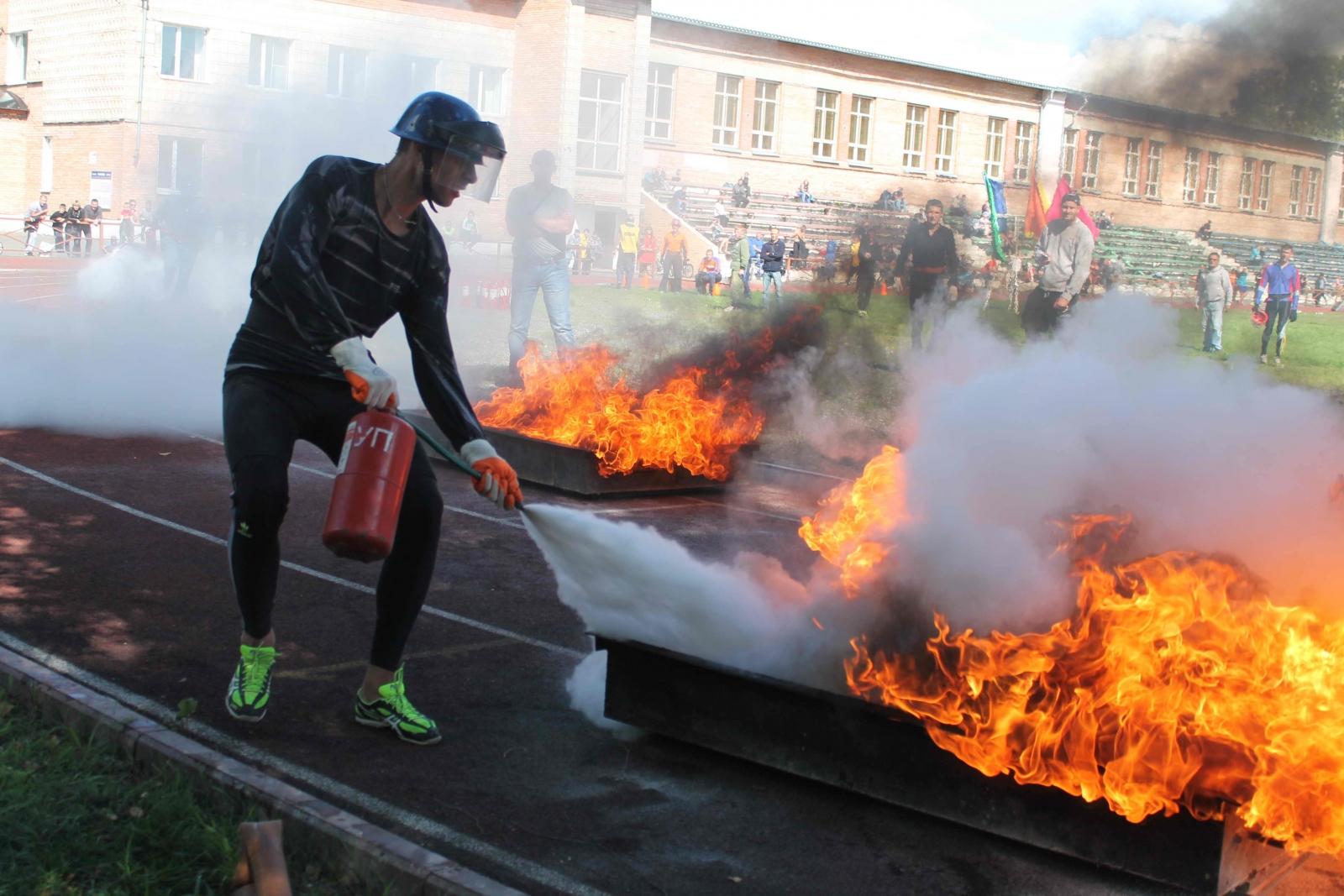 XIV Чемпионат по пожарно-прикладному спорту среди пожарных и спасателей Томской области в г. Асино. День второй, 15 августа 2015