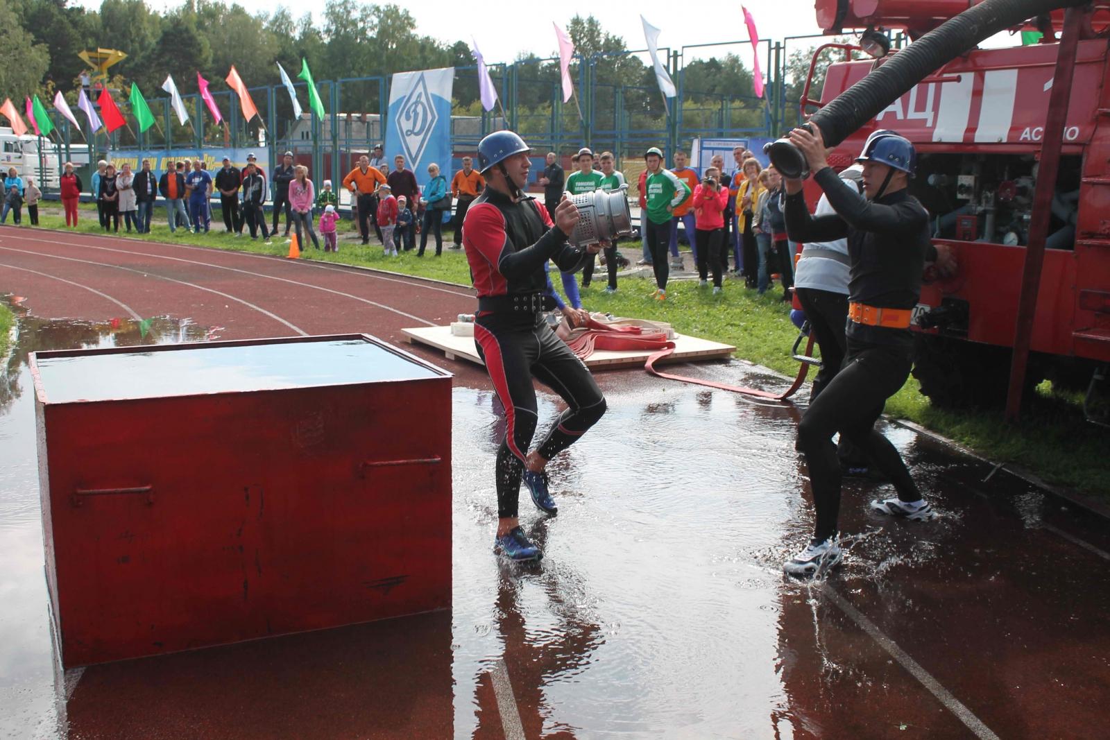 XIV Чемпионат по пожарно-прикладному спорту среди пожарных и спасателей Томской области в г. Асино. День третий, 16 августа 2015