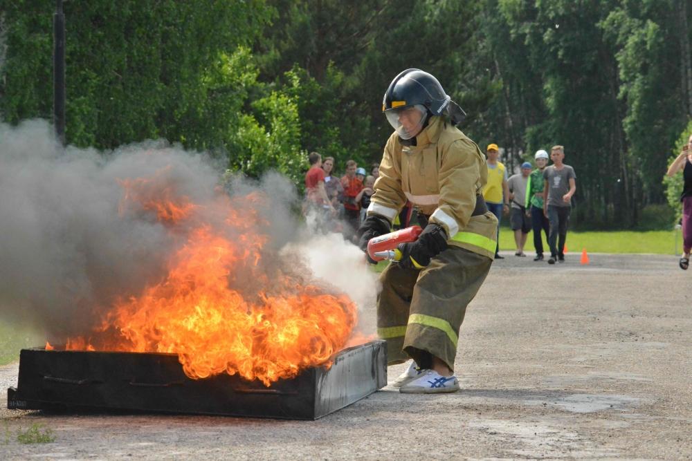 Третий день межрегиональных соревнований «Школа безопасности». Этап «Пожарная эстафета». Закрытие соревнований.