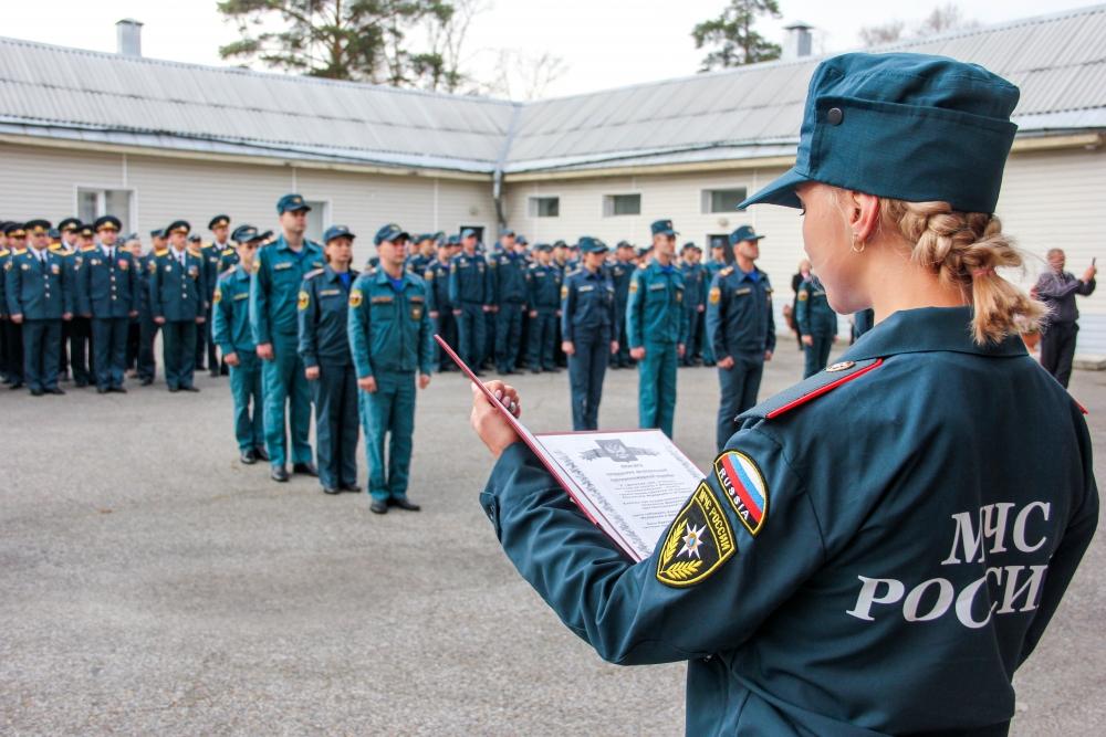 В Специальном управлении ФПС № 8 МЧС России торжественно отметили 71-ю годовщину со дня образования Специальной пожарной охраны МЧС России