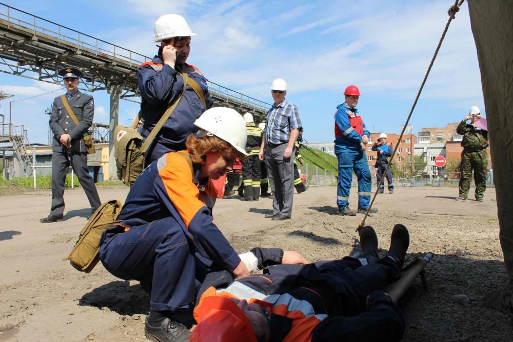 Тактико-специальные учения на ГРЭС-2, 25 мая 2016 года