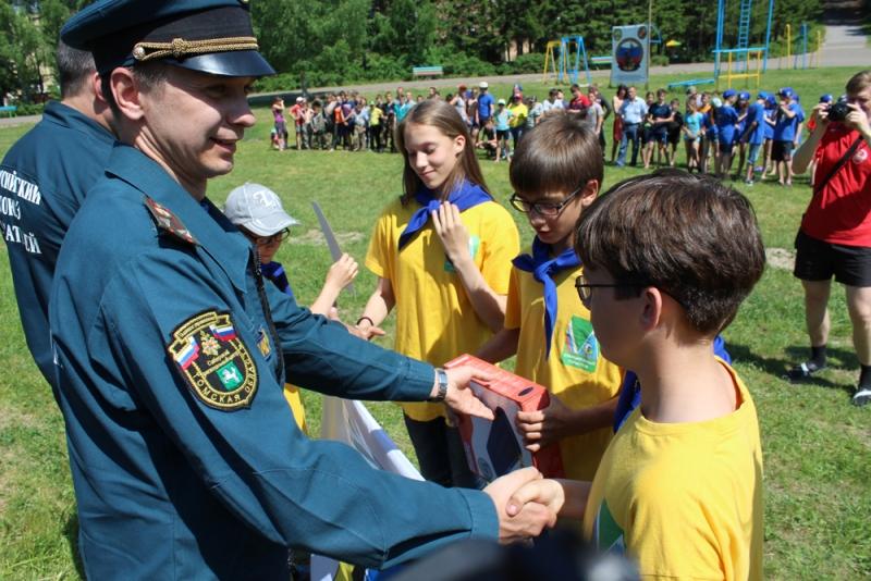 Четвертый день «Школы безопасности», закрытие соревнований и награждение участников, 13 июня 2016 года