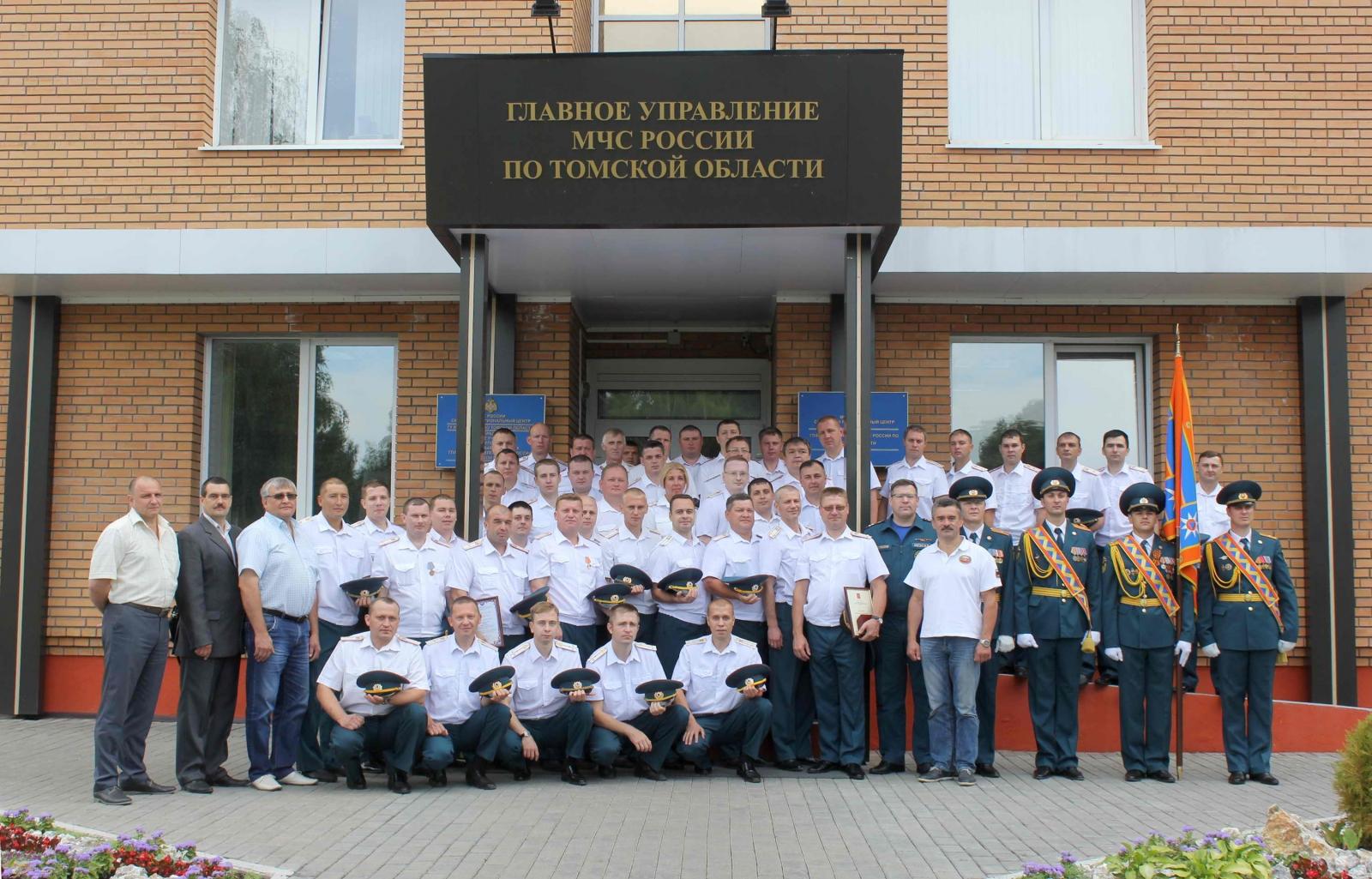 Торжественное мероприятие, посвященное 88-летию со дня образования органов государственного пожарного надзора, 22 июля 2015 года