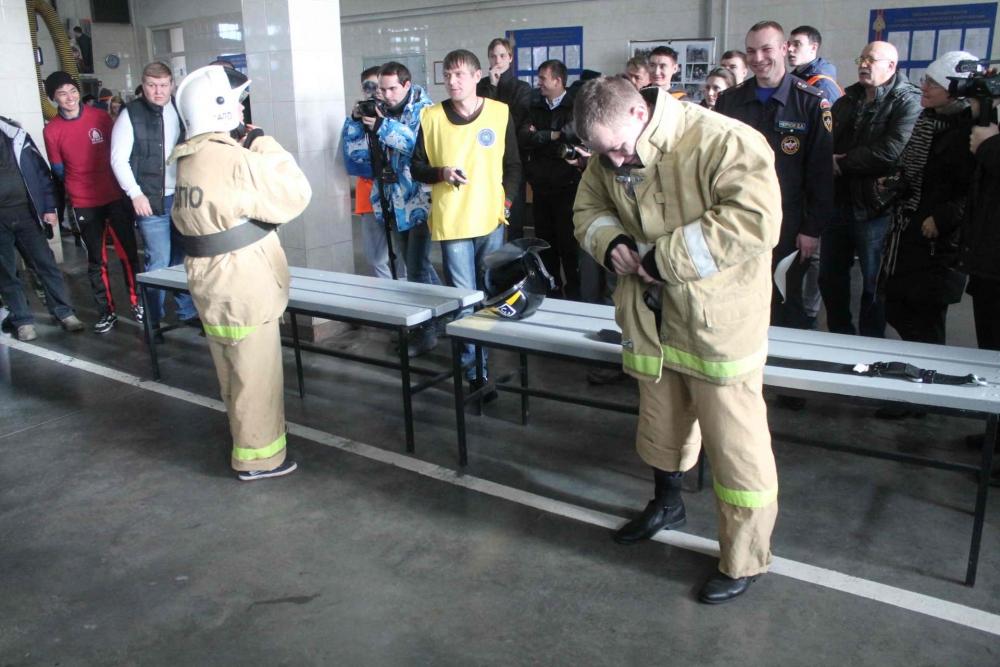 Соревнования по пожарно-прикладному спорту среди студенческих добровольных пожарных дружин высших учебных заведений, 23 октября 2015 года