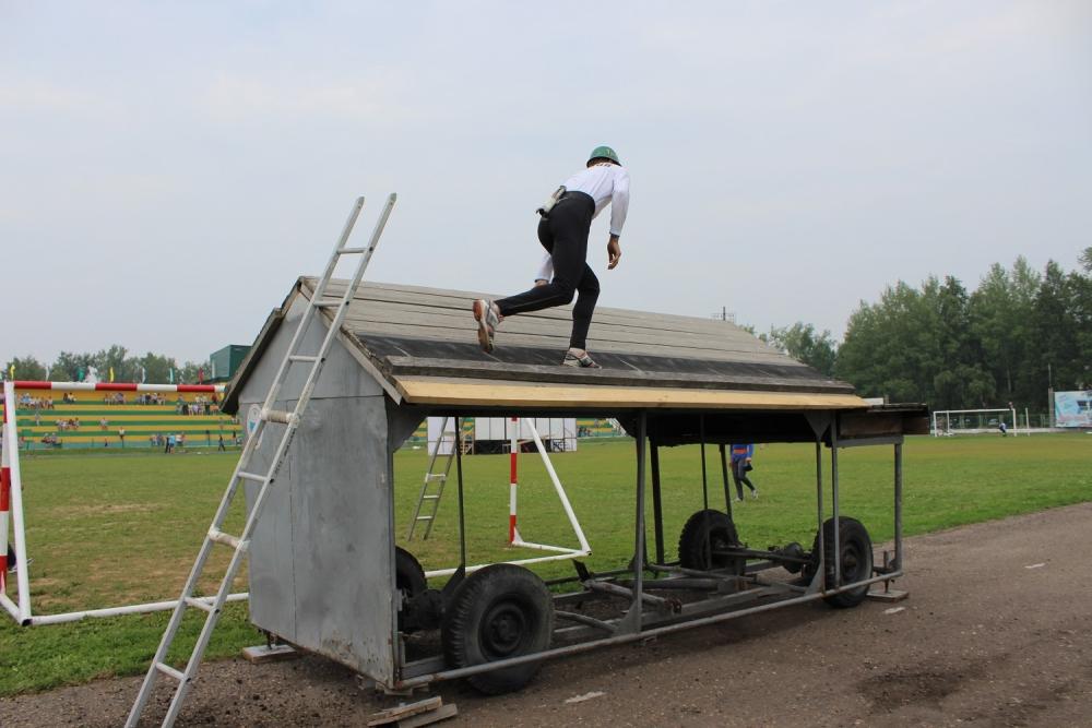 XV чемпионат по пожарно-прикладному спорту среди пожарных и спасателей Томской области в г. Колпашево. Второй день.