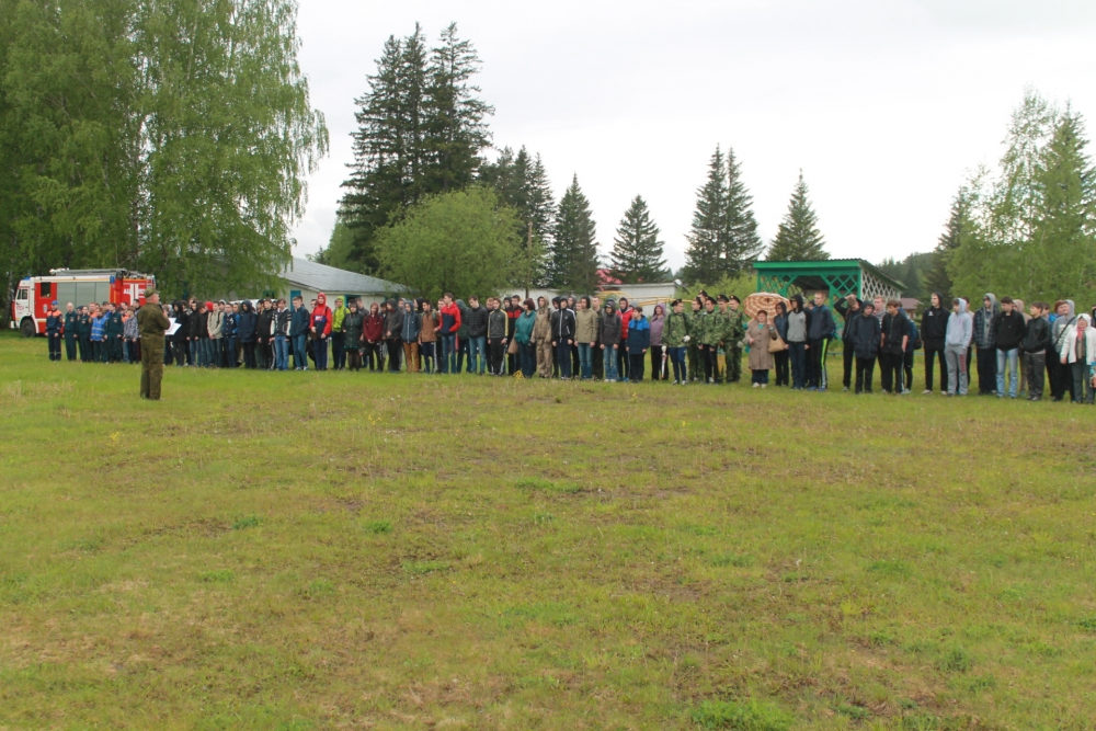 Обучающие занятия для учащихся Томска в военно-патриотическом лагере (проект «Я – гражданин»), 31 мая - 1 июня 2016 года