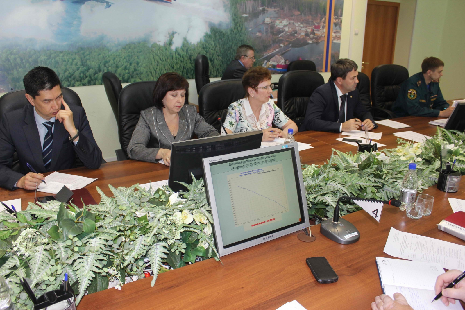 Заседание областной межведомственной комиссии по предупреждению и ликвидации чрезвычайных ситуаций и обеспечению пожарной безопасности по паводковой обстановке, 22 мая 2015 года